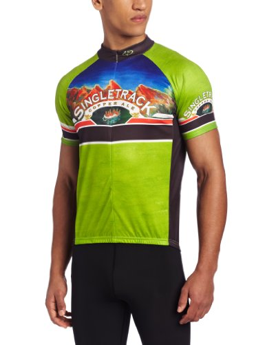 Primal Singletrack Copper Cycling Jersey product image
