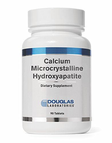 Douglas Laboratories - Calcium Microcrystalline Hydroxyapatite - Bioavailable Source of Calcium Derived from Whole Bone - 90 Tablets