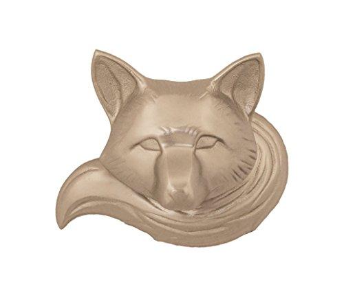 (Fox Door Knocker - Nickel Silver (Standard Size))
