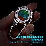 IMIKEYA Clip Watch Multi- Functional Microlight