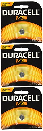 - Duracell DL1/3N CR1/3N 3V Lithium Battery 3 Pack