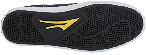 Lakai Flaco Skate Shoe Navy / Camoscio Bianco