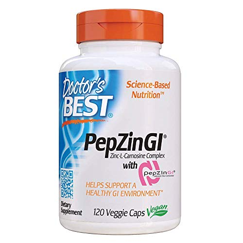Zinc-Carnosine Complex with PepZin