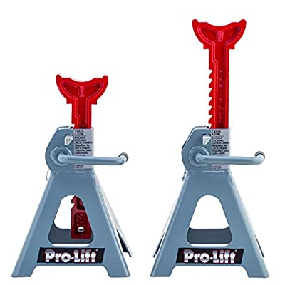 Pro-LifT T-6903D Double Pin Jack Stand - 3 Ton, 1 Pack: Automotive