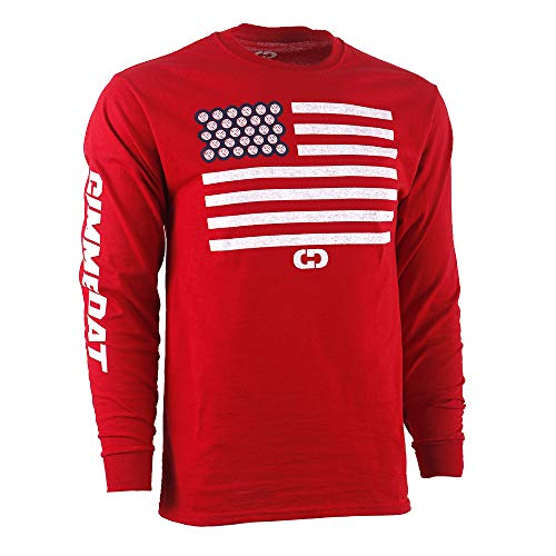 GIMMEDAT USA Volleyball Flag Long Sleeve Shirt Player Gift