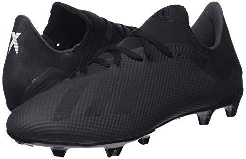 X 3 Noir Adidas Hommes Noir Footbal 18 noir Fg Chaussures TxA7I