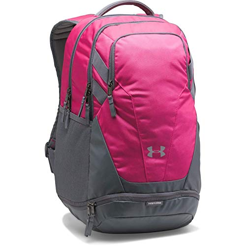 Under Armour Team Hustle 3.0 Backpack, Tropic Pink/Silver, One Size Fits All