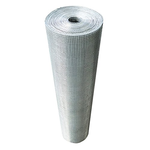 36inch Hardware Cloth 100 ft 1/4 Mesh Galvanized Welded Wire 23 gauge Metal Roll Vegetables Garden Rabbit Fencing Snake Fence for Chicken Run Critters Gopher Racoons Opossum Rehab Cage Wire Window by AMAGABELI GARDEN & HOME (Image #1)