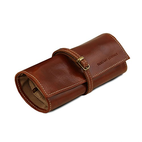 Tuscany Exclusive Red Tuscany Leather Leather Brown case Leather Jewellery Ztftrw