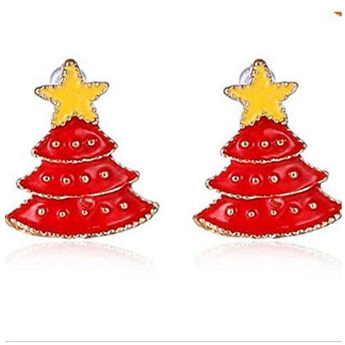 Elakaka Women's Christmas Earrings Earrings with Diamond 3 (Hollywood Costumes For Sale Australia)