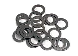 Traxxas 1985 Ptfe-coated Washers, 5x8x0.5mm (Set Of 20)