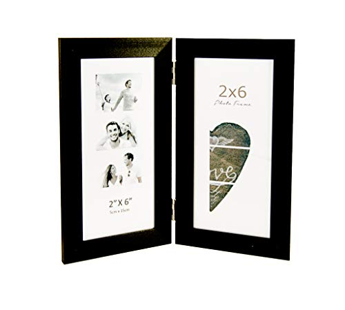 Photo Booth Frames, displays Two 2x6 inch Photo