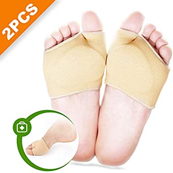 2 Pairs|Foot Care|4-7 Silky Open Toe Sole Cushion Pads
