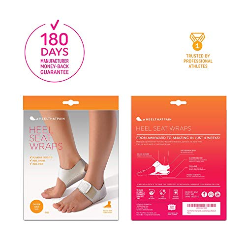 91a0427acc72ff Heel That Pain Heel Seat Wraps for Plantar Fasciitis and Heel Spurs –  Perfect for Heel