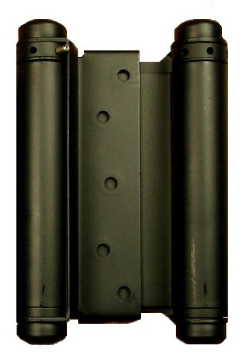 Hinge Outlet Double Action Spring Hinge 6 Inch Matte Black, Cafe Door Hinge, Saloon Door Hinge