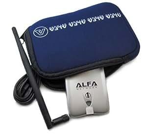 Alfa U-Bag - Funda para antenas inalámbricas Alfa y otros dispositivos (neopreno), color azul