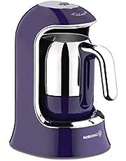 ماكينة تحضير القهوة التركية 400 واط من كوركماز - لون بنفسجي - ماكينة تحضير قهوة من نوع بين تو كب - A860-01