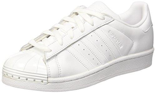 Kerne Sko Fodtøj Sort Adidas Superstar Metal hvid Tå Fodtøj Hvide Kvinder qTx1CTOwp