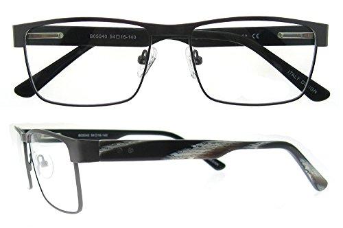 7f169f0fb2 OCCI CHIARI Men Rectange Optical Eyewear frames With Clear Lenses ...