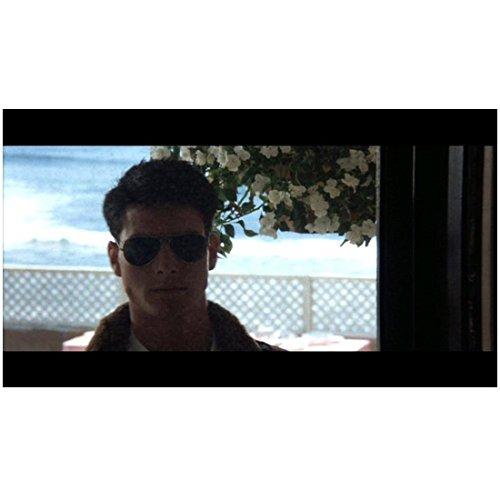 Top Gun (1986) 8 inch by 10 inch PHOTOGRAPH Tom Cruise Head Shot w/Sunglasses Through Window - Tom Top Gun Sunglasses Cruise