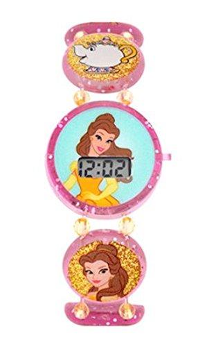 Disney Princess Pink Stretch Bracelet LCD Kids ()