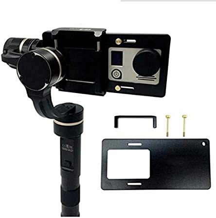 Hockus Accessories Universal Mobile Phone Adapter Switch Mount Plate for Gopro3 4 5 Mount Plate Adapter U Fixator with Screw Accessories Color: as Shown