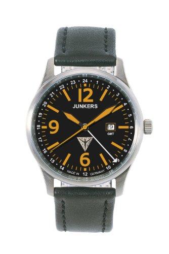 JunkersG-38 Orange GMT Titanium Watch 6278-5