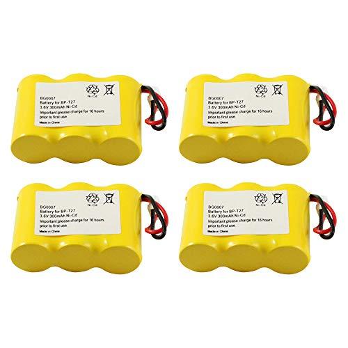 WalR Rechargeable Cordless Phone Battery, 4 Pack, for Lenmar CBD312 CBD-312 Northwestern Bell 32710 32750 38300 39100 Sanik 3SN23AA30SJ1 3SN2/3AA30 3N-250AA 3N-270AA (S-SJC) 3N-270AA ZG