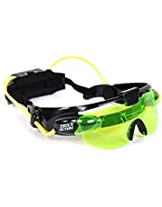 Sunny Days Entertainment Night Vision Glasses – Kids Spy Toy | Adjustable Green LED Eye Goggles - Maxx Action