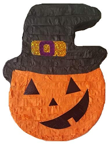 Aztec Imports, Inc. Halloween Pumpkin in Witch Hat Pinata by Aztec Imports, Inc.