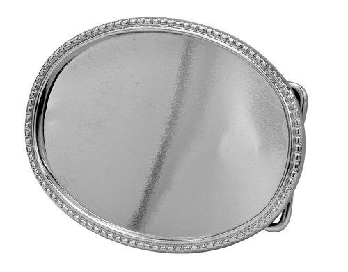 Buckle Rage Custom Design Belt Buckle Silver