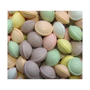 (Concord Tangy Tarts Uncoated Bulk Vending Fruit Candy, 3Lb by)