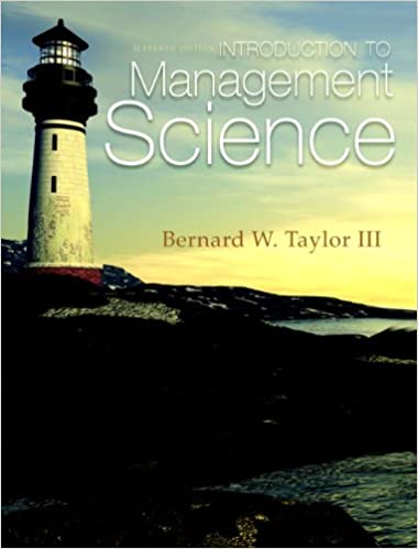 Introduction to management science 11th edition bernard w taylor introduction to management science 11th edition 11th edition fandeluxe Image collections