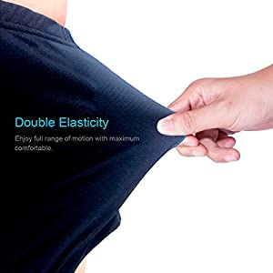 Twotwowin Double Elasticity Cycling Underwear TT14, Women's Bike Underwear, Breathable and Lightweight Biking Shorts With 3D Padded For Spin Class Bicycle Riding Biking. (S(Waist 25.2''-30.0''))