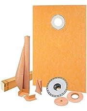 "Schluter Kerdi-Shower Kit 38"" x60"", Offset PVC Flange"