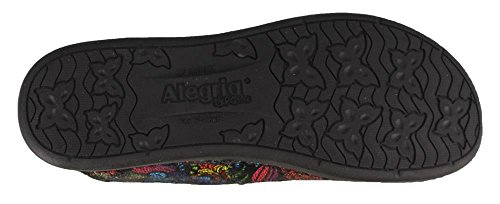Alegria Womens Glee Clog Stained Glass