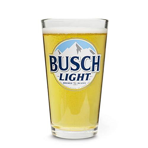 Busch LIGHT Beer Pint Glass Set | Set of 2