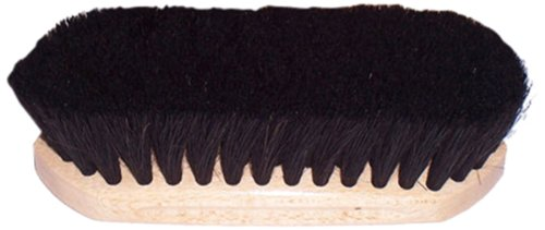 Intrepid International Tailwrap Wood Block Horse Hair Brush, 6 1/4 by Intrepid International