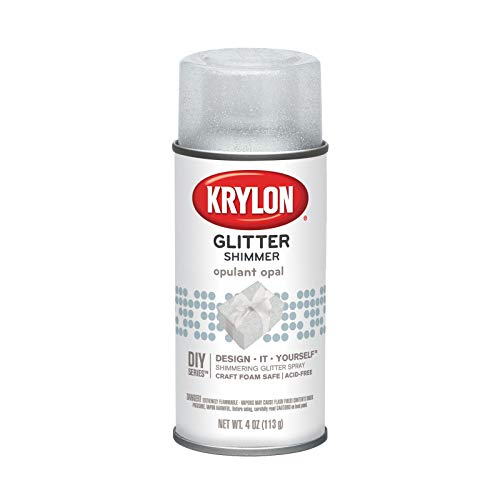 Glitter Aerosol Spray 4oz-Opal