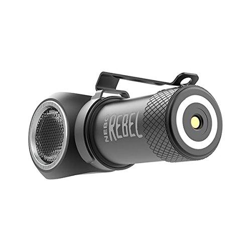 Nebo Rebel 240 lumen LED headlamp/work light 6691 USB rechargeable with magnetic base, with EdisonBright USB powered reading light bundle by EdisonBright (Image #4)