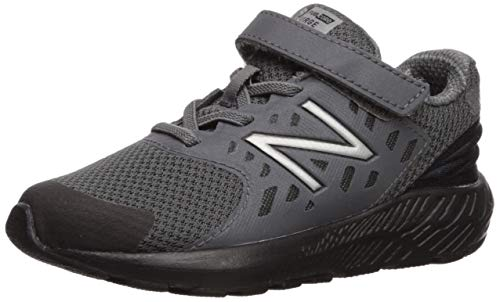 New Balance Boys' Urge V2 FuelCore Running Shoe, Castlerock/Black, 6 M US Toddler