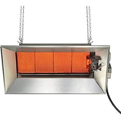 SunStar Heating Products SGM6-L1 Gas Infrared Propane Gas Ceramic Heater 52,000 Btu