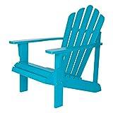 Shine Company Westport Adirondack Chair, Turquoise