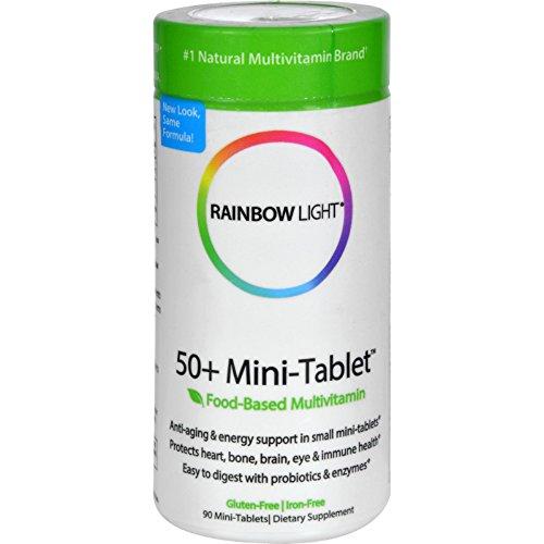 50 Minitab (Rainbow Light 50 Plus Mini-Tab Age-Defense Formula - 90)