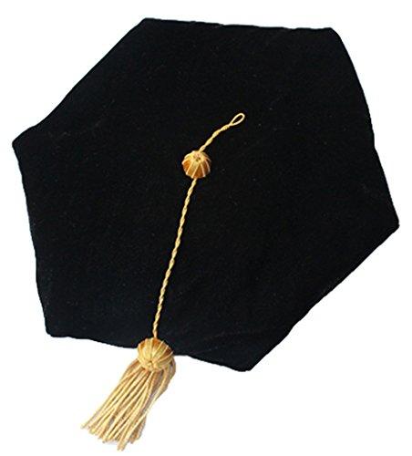 Gold Graduation Hat - 4