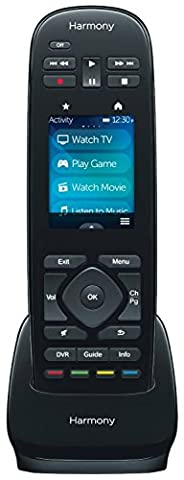 Logitech Harmony Ultimate One IR Remote with Customizable Touch Screen Control (915-000224) (Certified (Police Car Dvd)