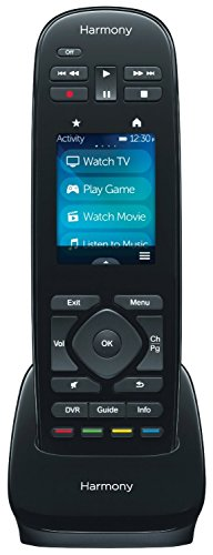 Logitech Harmony Ultimate One IR Remote With Customizable Touch Screen Control, Black (Certified Refurbished)