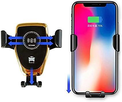 aaerp - Soporte de Coche para Smartphone (inalámbrico, 10 W, Incluye Cargador para Coche): Amazon.es: Electrónica