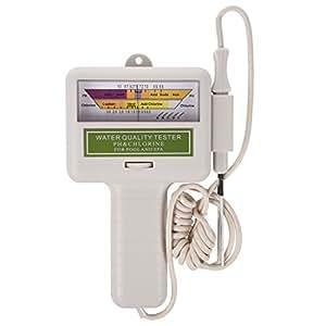 Sodial r agua calidad ph cl2 medidor ensayador nivel de for Nivel de cloro en piscinas