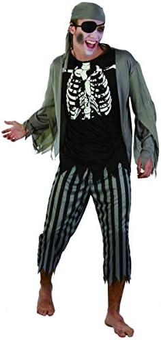 Generique - Disfraz Pirata Zombie Hombre: Amazon.es: Juguetes y juegos